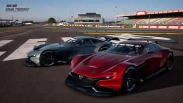 มาสด้าส่งต้นแบบ Mazda RX-Vision GT3 Concept