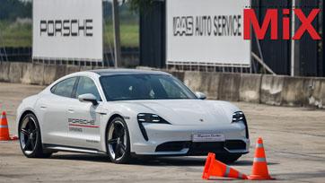 เอเอเอสฯ เปิดประสบการณ์ขับขี่สุดเร้าใจกับรถสปอร์ตไฟฟ้าสมบูรณ์แบบ ปอร์เช่ ไทคานน์