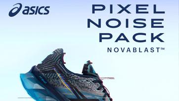 สิ้นสุดการรอคอย! ASICS เปิดตัว NOVABLAST กับสีสันสุดพิเศษ จากคอลเลคชั่นส่งท้ายปี Pixel Noise Pack