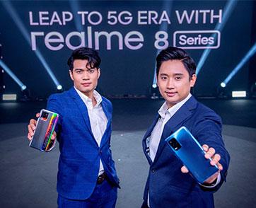 realme เปิดตัวสมาร์ทโฟนรุ่นล่าสุด realme 8 Series