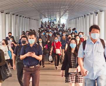 คลัสเตอร์ใหม่คลองเตย บ้านน้ำขิง และซีเอสพีสติลเซ็นเตอร์ ดันยอดคนติดเชื้อในไทยพุ่งอีก 43,925 ราย
