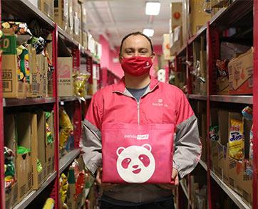 pandamart โดยfoodpanda ผนึกกำลังกับแบรนด์ดัง ร่วมส่งมอบของกินของใช้ให้โรงพยาบาลสนาม