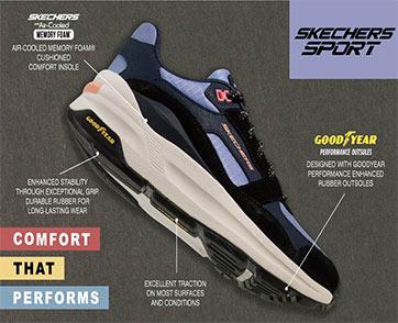 สเก็ตเชอร์ส จับมือ กู๊ดเยียร์  เพิ่มประสิทธิภาพพื้นรองเท้าด้วยนวัตกรรมยางชั้นนำระดับโลก