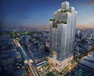 เปิดภาพโครงการ Park Silom ผู้คว้ารางวัล Property of the Year 2020