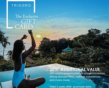 ตรีสรา รีสอร์ท มอบประสบการณ์พักผ่อนด้วย Exclusive Gift Card เริ่มต้นเพียง 3,000 บาท