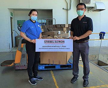 สตีเบล เอลทรอนปันน้ำใจร่วมสร้างเตียงกระดาษสำหรับผู้ป่วยโควิด-19