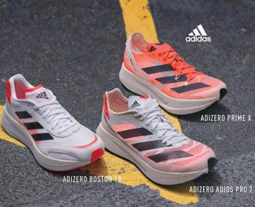 อาดิดาส เปิดตัวรองเท้าวิ่งตระกูล ADIZERO รุ่นใหม่ล่าสุด