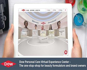 Dow เปิดตัวศูนย์วิจัยเครื่องสำอางออนไลน์สร้างประสบการณ์เสมือนจริง