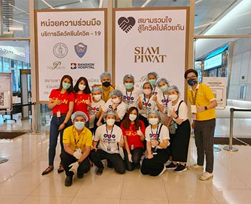 ไทยเวียตเจ็ทอาสาช่วยอำนวยความสะดวกแก่ทีมแพทย์และพยาบาล