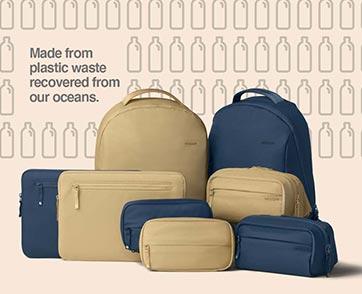 INCASE เพิ่มตัวเลือกสีสันใหม่ Baltic Sea และ Sand ในคอลเลกชันรักษ์โลกBIONIC ®