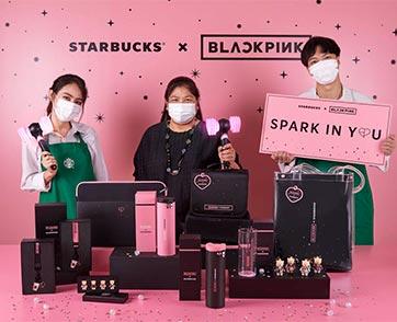 สตาร์บัคส์ร่วมกับ BLACKPINK เปิดตัวผลิตภัณฑ์คอลเลคชั่นพิเศษ 'Spark in You' ในประเทศไทย