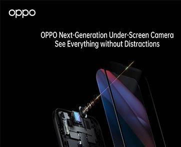 OPPO เปิดตัวเทคโนโลยี Under-Screen Camera รุ่นใหม่