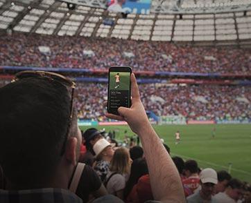 พลิกโฉม 360 องศาประสบการณ์ความตื่นเต้นเร้าใจของการดูกีฬาไปกับเทคโนโลยี 5G