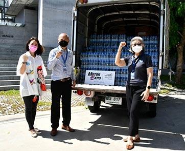 """""""คนไทยไม่เคยทิ้งกัน"""" MOTOR EXPO ช่วยผู้ประสบภัย COVID-19"""