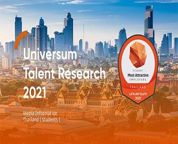 """ยูนิเวอร์ซัม เผยผลสำรวจ """"Universum 2021 Thailand"""" ชี้นักศึกษาไทยให้ความสำคัญเรื่อง """"ฐานเงินเดือน"""""""