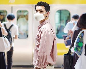 แอลจีพร้อมให้คนไทยสัมผัสนวัตกรรมหน้ากากฟอกอากาศ LG PuriCareTMGen 2