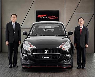 """""""ซูซูกิ""""ตอกย้ำภาพลักษณ์สปอร์ตอีโคคาร์ แนะนำ 'SUZUKI SWIFT GL PLUS' ราคาเพียง 567,000 บาท"""