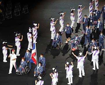 """มหกรรมกีฬา """"พาราลิมปิก โตเกียว"""" เปิดฉากการแข่งขันอย่างเป็นทางการ"""