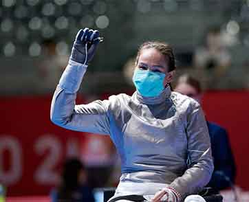 สายสุนีย์ สู้เต็มที่ก่อนพ่ายสาวจีนชวดเข้าตัดเชือกวีลแชร์ฟันดาบ เซเบอร์