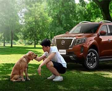 นิสสันนาวารา ชวนเพื่อนสี่ขาขึ้นรถทำกิจกรรมฉลองวันสุนัขโลก