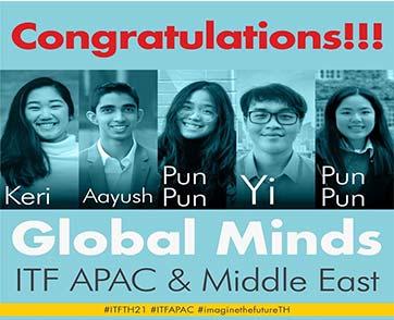 ทีม Global Minds จากเชลล์ ประเทศไทย