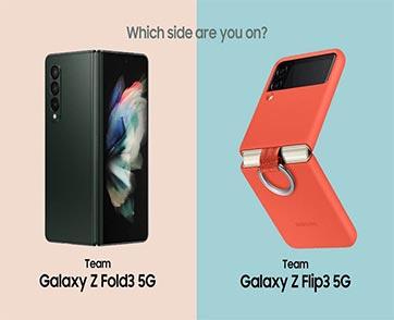 SAMSUNG Galaxy Z Fold3 5G I Flip3 5G