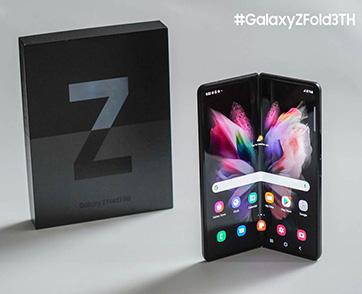 แฟชั่นจากบุคคลกลุ่มแรกในไทยผู้ได้เป็นเจ้าของ Galaxy Z Fold3   Flip3 5G