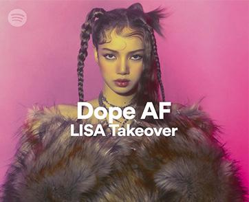 LISA สมาชิกวง BLACKPINK เปิดตัว LALISA บน Spotify พร้อมกับข้อความถึงแฟนๆ ชาวไทย