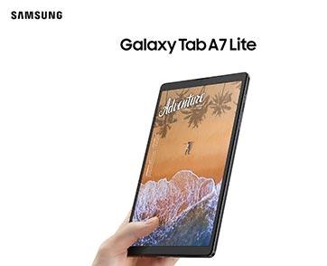 Samsung Galaxy Tab A7 Lite ดูซีรีส์ – เล่นเกม – เรียนออนไลน์ ตอบโจทย์การใช้งาน