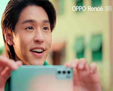 "OPPO Reno6 5G ดึงนักร้องนักแสดงมากฝีมือ Billkin  ปล่อย MV ใหม่สุดโรแมนติก ""เก็บไว้ตลอดไป"""