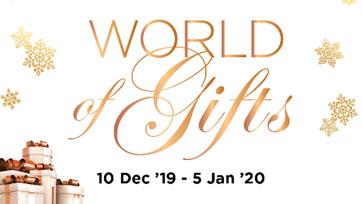 ไอคอนสยาม  ชวนมอบความสุขส่งท้ายปีเก่าต้อนรับปีใหม่ ในงาน ICONSIAM World of Gifts