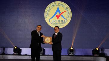 โรงแรมแคนทารี โคราช รับมอบตราสัญลักษณ์ Thailand MICE Venue Standard:TMVS