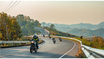 รอยัล เอนฟิลด์จัดทริปTour of Thailand2020ขี่ลุยเส้นทางกรุงเทพฯ ถึงจุดสูงของสยามระยะทางกว่า 1,300 กิโลเมตร