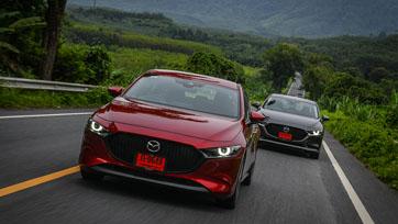 Mazda3 และ CX-30 เข้าชิงรอบสุดท้ายรถยนต์ยอดเยี่ยมของโลก