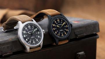 HAMILTON นาฬิกาดีไซน์วินเทจสไตล์ทหารยุค GREAT WAR