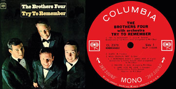 """""""Try To Remember""""  The Brothers Four"""