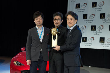 มาสด้า เอ็มเอ็กซ์- 5 ฉลองชัยคว้ารางวัลรถยนต์ยอดเยี่ยมของโลก