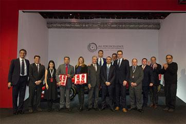 คาวาลลิโน มอเตอร์ ชนะรางวัล Top Ferrari Showroom 2015 จากทั่วโลก