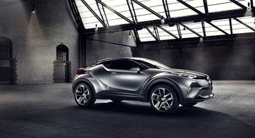 """โตโยต้าโชว์นวัตกรรมยานยนต์ต้นแบบระดับโลก """"Toyota C-HR Concept"""""""